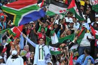 Tausende bei der Eröffnungsfeier in Tshwane